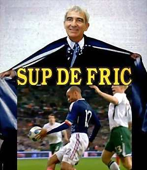 Match de foot Eire-France