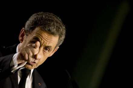 Conférence de presse de Sarkozy