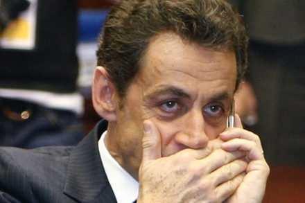 Le SMS de Sarkozy