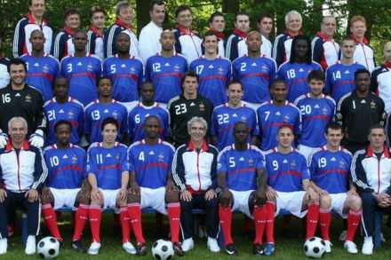 L'équipe de France de foot s'africanise