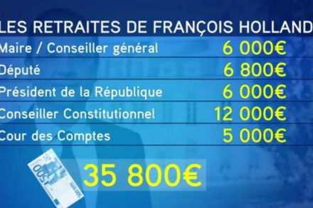 Promesses et salaires de Hollande