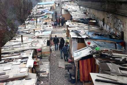 Roms logés aux frais du contribuable