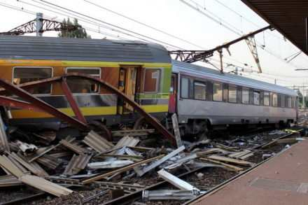 Déraillement du train Paris-Limoges