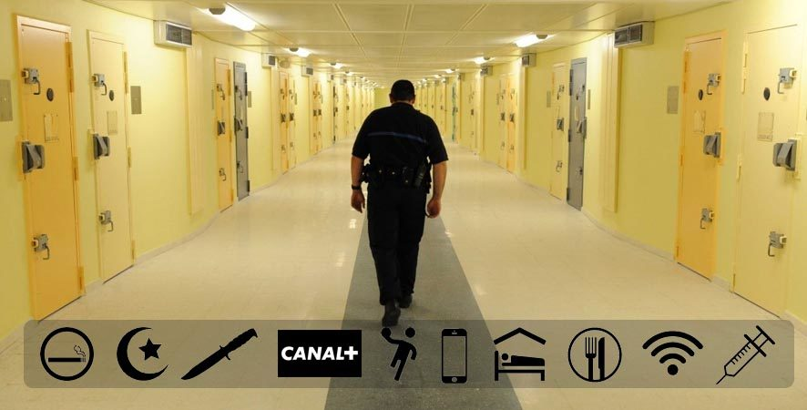 gardiens de prison en grève