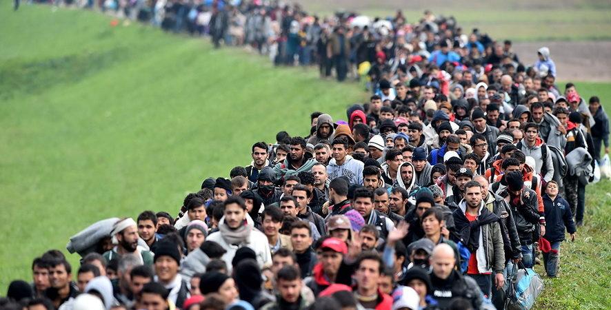 invasion migratoire en Europe