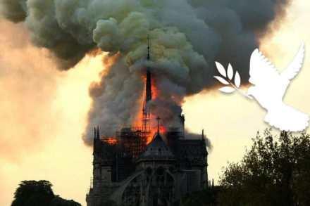 L'incendie de Notre-Dame un cri de beffroi