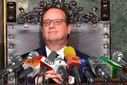 La fausse interview de François Hollande