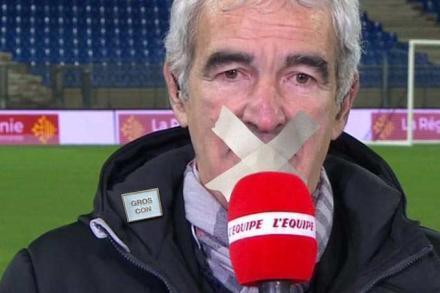 La fausse interview de Raymond Domenech